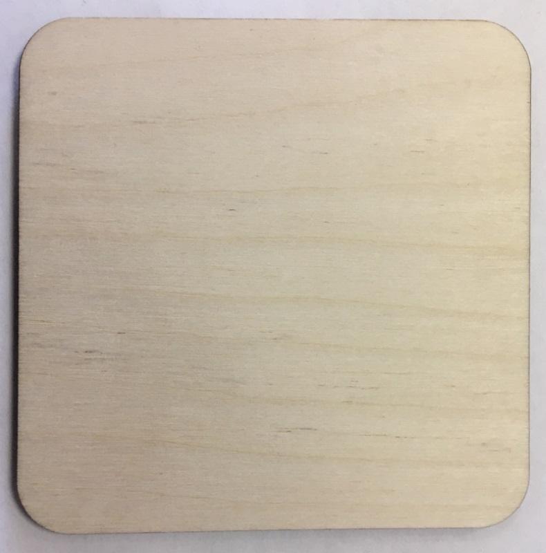 Заготовки для сублимации Деревянные Костеры-квадрат