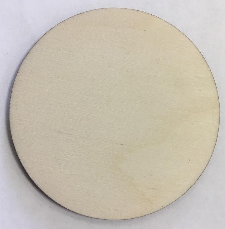 Заготовки для сублимации Деревянные Костеры-круглые